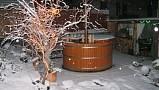 Villa De Likua - Kúpací sud v zime